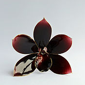 Украшения handmade. Livemaster - original item Hairpin for hair the black Dahlia. Handmade.