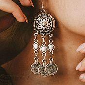 Украшения handmade. Livemaster - original item Different silver plated earrings. Handmade.
