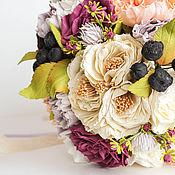 Свадебный салон ручной работы. Ярмарка Мастеров - ручная работа букет невесты ОСЕНЬ. Handmade.