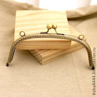 Другие виды рукоделия ручной работы. Ярмарка Мастеров - ручная работа. Купить Пришивная рамка для сумки 15см (БФ015-С). Handmade.