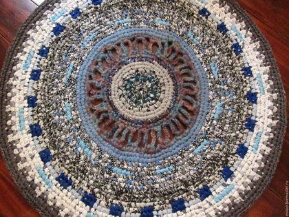 Текстиль, ковры ручной работы. Ярмарка Мастеров - ручная работа. Купить Ковер текстильный