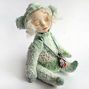 Куклы и игрушки ручной работы. Ярмарка Мастеров - ручная работа Тедди долл Тая. Handmade.