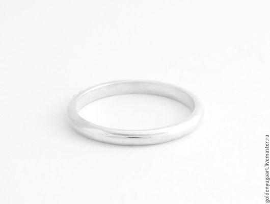 Кольца ручной работы. Ярмарка Мастеров - ручная работа. Купить Кольцо Simply, серебро 925 пробы. Handmade. Серебряный