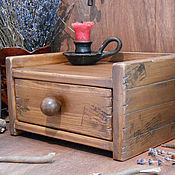 Для дома и интерьера ручной работы. Ярмарка Мастеров - ручная работа Комодик для хранения (сибирский кедр). Handmade.