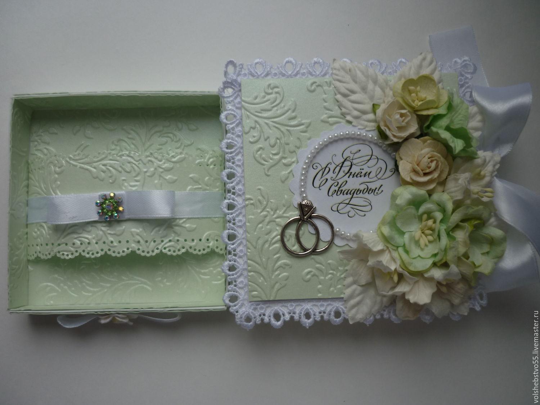 Коробочка открытка для денег на свадьбу скрапбукинг, открытки днем рождения