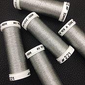 Нитки ручной работы. Ярмарка Мастеров - ручная работа Metallics Antique, цвет 221, металлизированные нити, Франция. Handmade.
