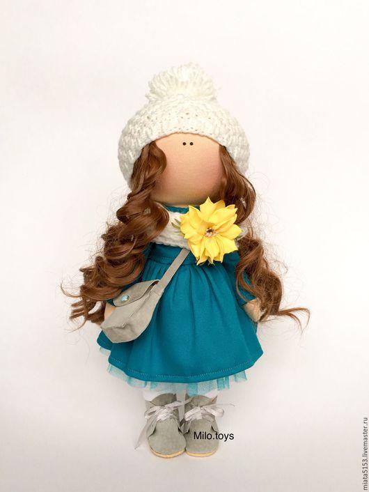 Коллекционные куклы ручной работы. Ярмарка Мастеров - ручная работа. Купить Интерьерная куколка. Handmade. Кукла ручной работы, подарок
