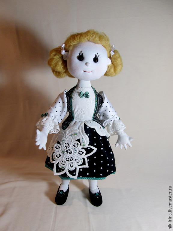 """ручной работы. Ярмарка Мастеров - ручная работа. Купить Машуня ( серия каркасных Кукол - """"Девчушки"""" ). Handmade. Кукла"""