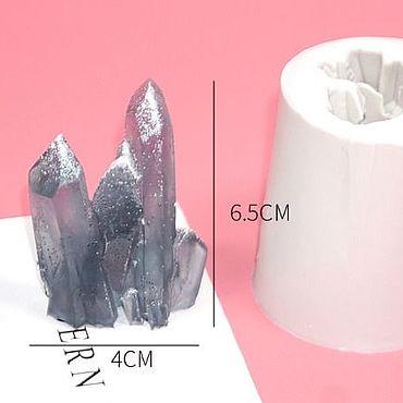 Материалы для творчества ручной работы. Ярмарка Мастеров - ручная работа Молды кристаллы (большой кристаллический камень). Handmade.