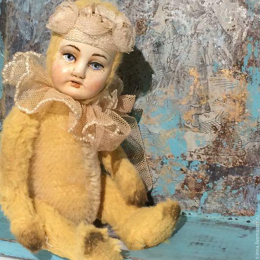 Коллекционные куклы ручной работы. Ярмарка Мастеров - ручная работа. Купить Аделина. Handmade. Бежевый, кукла интерьерная, вискоза