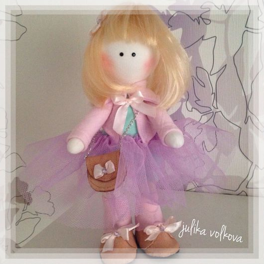Коллекционные куклы ручной работы. Ярмарка Мастеров - ручная работа. Купить Модница Мари. Handmade. Кукла ручной работы
