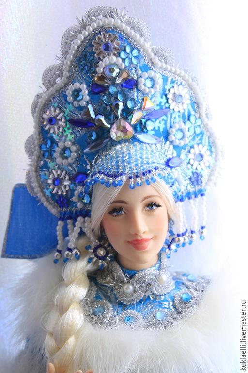 Коллекционные куклы ручной работы. Ярмарка Мастеров - ручная работа. Купить Кукла Снегурочка. Handmade. Снегурочка, кукла