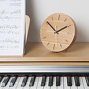Часы классические ручной работы. Ярмарка Мастеров - ручная работа Часы деревянные настольные/настенные. Handmade.