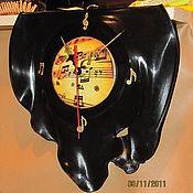 """Для дома и интерьера ручной работы. Ярмарка Мастеров - ручная работа Часы """"Льется музыка"""". Handmade."""