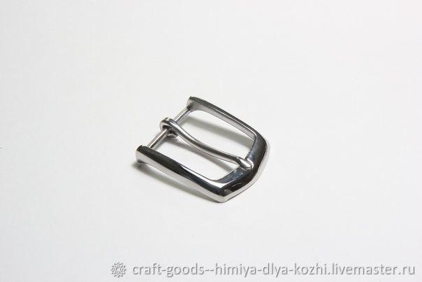Пряжка никель (35 мм), Фурнитура для шитья, Феодосия, Фото №1