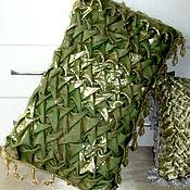 "Для дома и интерьера handmade. Livemaster - original item The pillowcase on the pillow. ""Palace-№1"" green gold. Handmade."