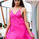 """Платья ручной работы. Ярмарка Мастеров - ручная работа. Купить Платье """"Шелковый Путь"""" из шифона. Handmade. Разноцветный, платье дизайнерское"""