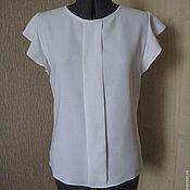 """Одежда ручной работы. Ярмарка Мастеров - ручная работа Блуза """"Кипельно-белый"""". Handmade."""
