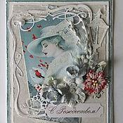 Открытки handmade. Livemaster - original item greeting card