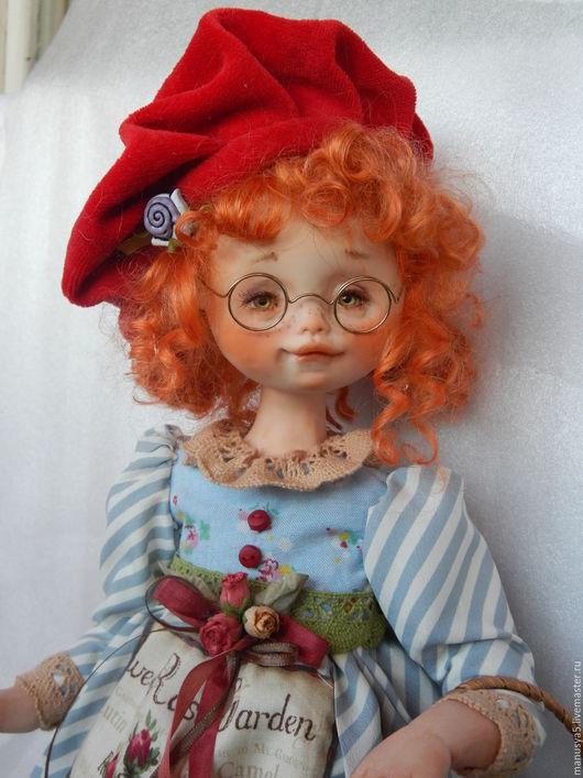 """Коллекционные куклы ручной работы. Ярмарка Мастеров - ручная работа. Купить Кукла """"Генриетта"""". Handmade. Комбинированный, подвижная кукла, шёлк"""