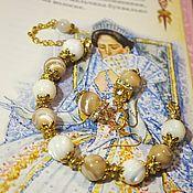 Украшения handmade. Livemaster - original item Jewelry sets: Set of mother-of-pearl