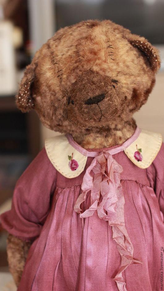 Мишки Тедди ручной работы. Ярмарка Мастеров - ручная работа. Купить Сливка. Handmade. Фиолетовый, опилки древесные