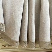 Для дома и интерьера handmade. Livemaster - original item Linen tablecloth for a large table