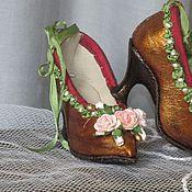 Куклы и игрушки ручной работы. Ярмарка Мастеров - ручная работа Кукольная обувь. Handmade.