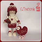 Куклы и игрушки ручной работы. Ярмарка Мастеров - ручная работа Куколка Любовь. Handmade.