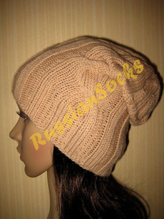 шапка бини, шапка-бини, шапка-носок, шапка-чулок, вязанная шапка, шапка вязанная, вязаная шапка, шапка вязаная, женская вязаная шапка, beanie, slouchy