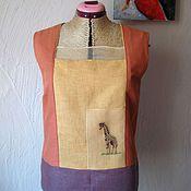 """Одежда ручной работы. Ярмарка Мастеров - ручная работа Топ """"Саванна"""". Handmade."""