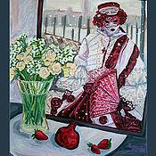 """Картины и панно ручной работы. Ярмарка Мастеров - ручная работа Картина """"Снег в Венеции"""". Handmade."""