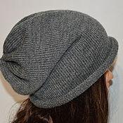 Шапки ручной работы. Ярмарка Мастеров - ручная работа Вязаная шапка, шапка бини, удлиненная шапка, шапка чулок в ассортимент. Handmade.