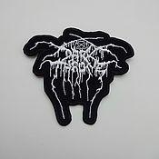 Patches handmade. Livemaster - original item Darkthrone patch. Handmade.