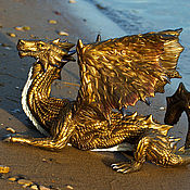 Куклы и игрушки handmade. Livemaster - original item figurine bronze dragon Christopher. Handmade.
