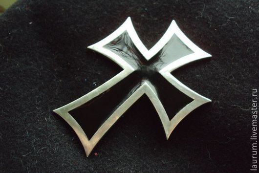 Подарки для мужчин, ручной работы. Ярмарка Мастеров - ручная работа. Купить тевтонский крест. Handmade. Серебряный, крест, тевтонский, сувенир