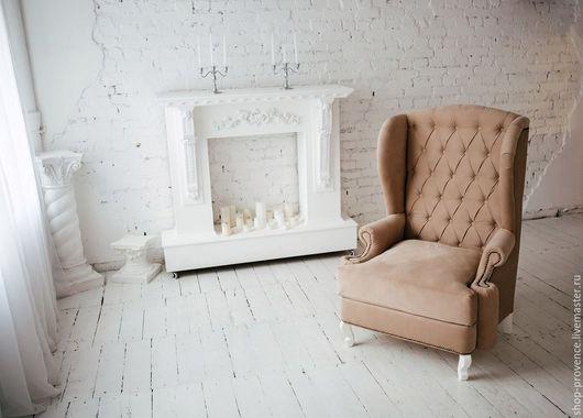 Мебель ручной работы. Ярмарка Мастеров - ручная работа. Купить Мягкое кресло Людовик. Handmade. Бежевый, мебель ручной работы