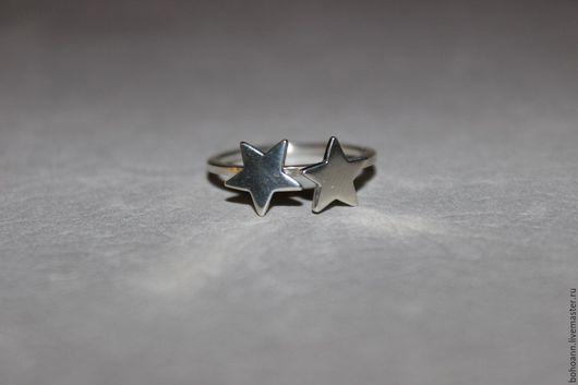 Кольца ручной работы. Ярмарка Мастеров - ручная работа. Купить Кольцо звезды. Handmade. Серебряный, кольцо в подарок, звездное небо