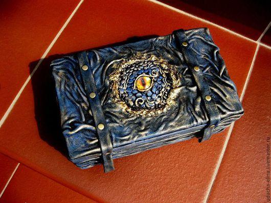 """Персональные подарки ручной работы. Ярмарка Мастеров - ручная работа. Купить Шкатулка """"Сокровище Дракона"""". Handmade. Тёмно-синий"""