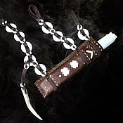 Сувениры и подарки handmade. Livemaster - original item Knife Nenets national hunting