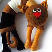 Куклы и игрушки ручной работы. Ярмарка Мастеров - ручная работа Трехмастный кот приносящий удачу. Handmade.
