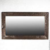 Для дома и интерьера ручной работы. Ярмарка Мастеров - ручная работа Настенное зеркало в деревянной раме. Handmade.