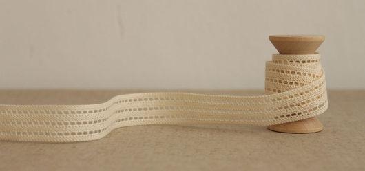 Шитье ручной работы. Ярмарка Мастеров - ручная работа. Купить Кружево 18 мм. Handmade. Шитье, отделка