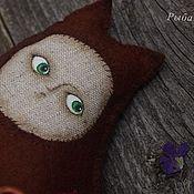 Куклы и игрушки ручной работы. Ярмарка Мастеров - ручная работа Ароматизированная кукла из мягкого испанского фетра.Повадилась... Handmade.