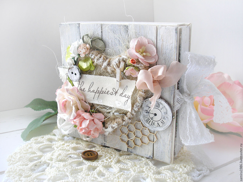 Ящик для открыток на свадьбу, ромашками