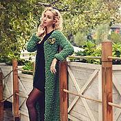 """Одежда ручной работы. Ярмарка Мастеров - ручная работа Пальто и брошь """"Танец леса"""". Handmade."""