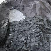 """Ткани ручной работы. Ярмарка Мастеров - ручная работа Органза с оборками """"Mariella Burani"""". Handmade."""