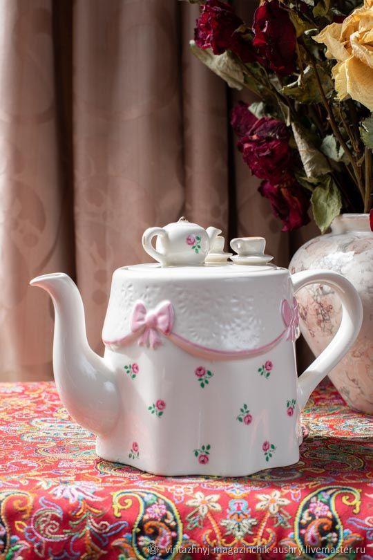 Винтаж: Заварочный чайник. Прованс. Англия. Винтаж, Чайники винтажные, Москва,  Фото №1