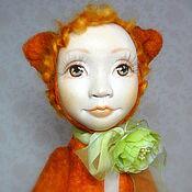 """Куклы и игрушки ручной работы. Ярмарка Мастеров - ручная работа Тедди-долл """"Кошечка"""". Handmade."""