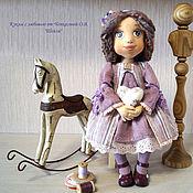 Шейли текстильная коллекционная, интерьерная кукла